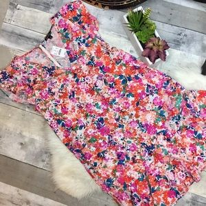 J.Crew Mercantile Floral Print Dress
